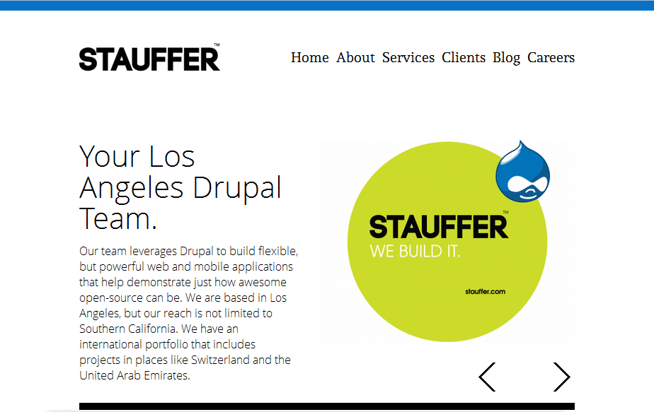 Stauffer Homepage 1