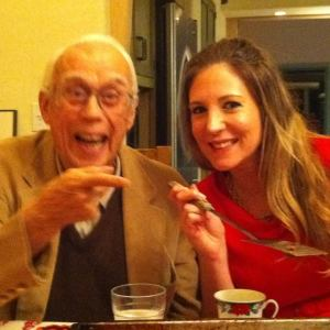 Gramps and I, Christmas Eve, 2010.
